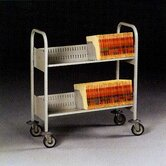Filing Cart, 2 Shelves