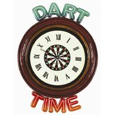 Dart Time Clock Pub Sign