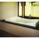 "Designer Danika 73"" W X 41"" D Bath Tub with Combo System"