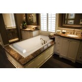 "Designer Regal 70"" W X 43"" D Bath Tub with Combo System"