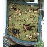 Morning Song Tapestry Throw