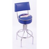 Logo Series Bar Stool with Back