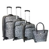 The Equestrian 4 Piece Luggage Set