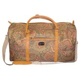 Paisley 20&quot; Jumbo Rolling Duffle Bag