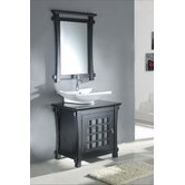 "30"" Single Bathroom Vanity Set in Espresso"