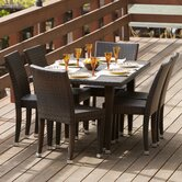 Dominica 7 Piece Outdoor Dining Set