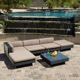 6 Piece Lounge Seating Group with Cushions