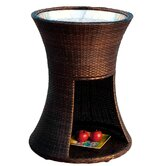 Apollo Wicker Beverage Caddy Table