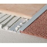 Extruded Anodized Aluminum Carpet Trim