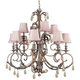 Royal 12 Light Chandelier