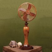 Sambuca Decorative Table Top Fan