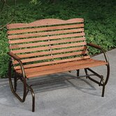 Country Garden Steel Promo Glider Bench