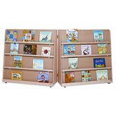 "48"" Folding Double Sided Book Display"