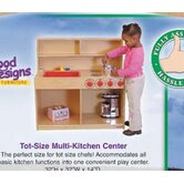 Healthy Kids Tot 3-N-1 Kitchen