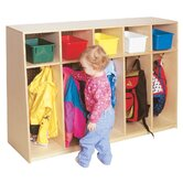 Tip-Me-Not 36&quot;H Locker with Plywood Back