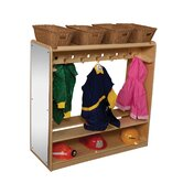 Natural Environment Mobile Double Sided Locker