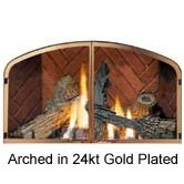 Fireplace Decorative Door Kit