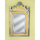 Natasha Medium Wall Mirror in Gold