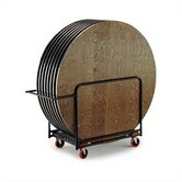 "Heavy Duty Table Caddy for 48"" to 72"" Round Tables"