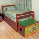 Little Lizards Twin Bed