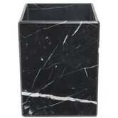 Luna Marble Wastebasket