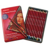 Pastel 12 Piece Colored Pencil Set