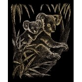 Koala Bears Art Engraving