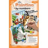 Painting by Numbers Cats Junior Value Set (Set of 3)