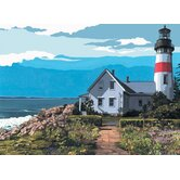 Painting by Numbers Artist Canvas Series Lighthouse Set