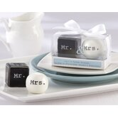 Mr. and Mrs. Ceramic Salt and Pepper Shaker
