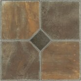 Nexus 12&quot; x 12&quot; Vinyl Tile in Rustic Slate