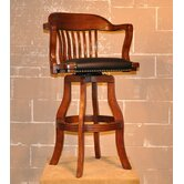 "Olde Town 30"" Swivel Bar Stool with Arms"