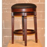 Burnished Cherry Princeton Backless Barstool