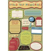 Cardstock Stickers Field Trip