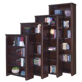 Tribeca Loft Cherry Office Collection 48&quot; Bookcase in Cherry