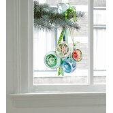 Limited Christmas Edition Window Decals in Green