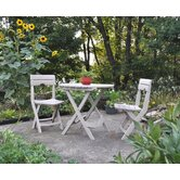 Quik-Fold 3 Piece Cafe Dining Set