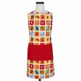 Eat Your Fruits and Veggies Apron