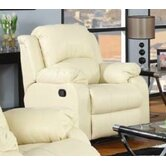 Rina Studio Bonded Leather Recliner
