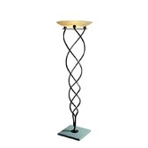Antinea One Light Floor Lamp in Rusty