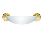 "Solune 5.1"" One Light Wall Sconce in Gold"