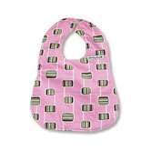 Bib in Hopscotch Pink