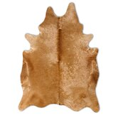Natural Cowhide Camel Rug