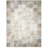 Patchwork Cowhide Park Exotic Zebu Rug