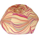 Swirl Print Bean Bag Chair