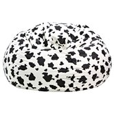 Cow Print Bean Bag Chair