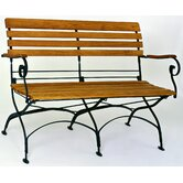 Rebecca Folding 2 Seater Bench