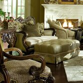 Chateau Beauvais Chair and Ottoman