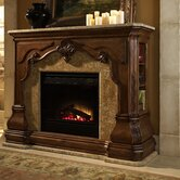 Michael Amini Indoor Fireplaces