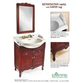 Kensington 24&quot; Bathroom Vanity Mirror in Cinnamon